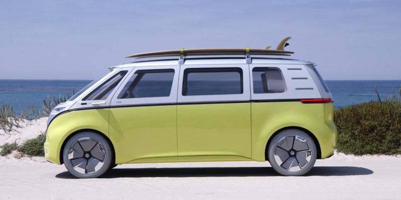 vw announce rebirth of icon with an electric microbus