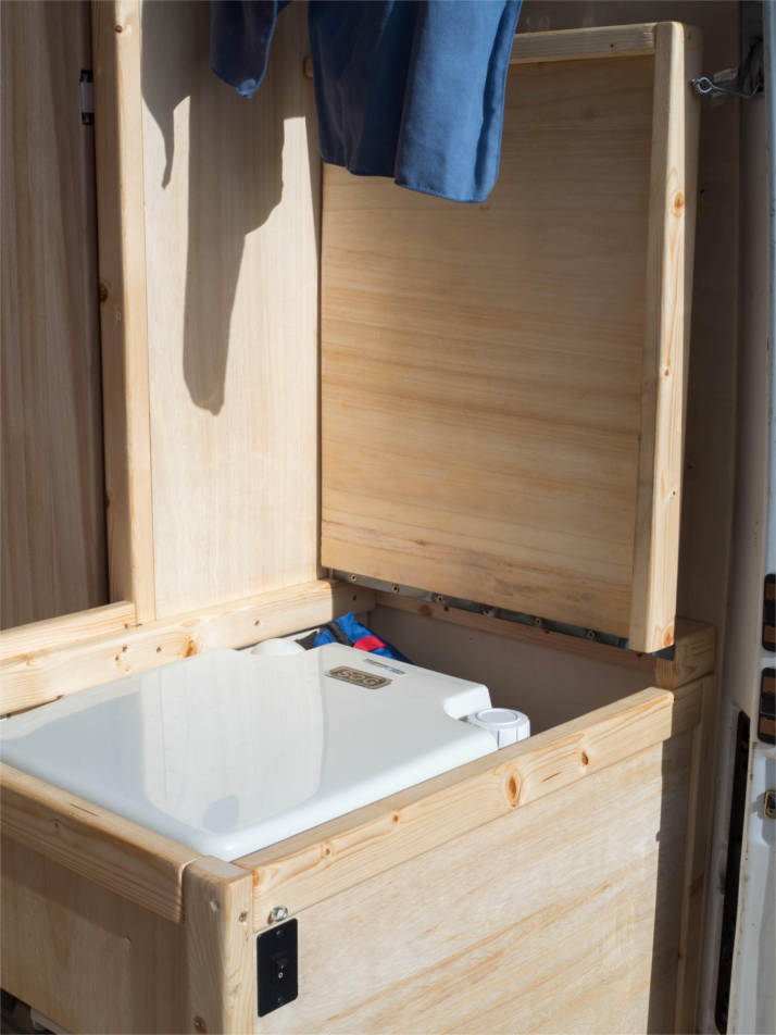 Sprinter Van Bathroom Kit: Sprinter Camper Van Bathroom Build -jellyliving.com