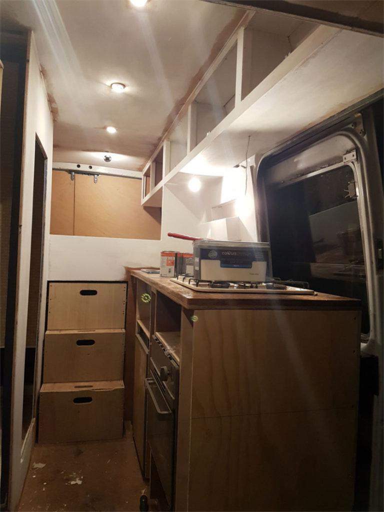 Manchester to Morocco in a Sprinter Van Camper Conversion